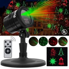 Buy Christmas Laser Lights, Outdoor Waterproof Fairy Projector lights with Remote Red and Green Laser Magic Light Star Fairy Shower Garden Lighting Slide Show For Xmas Holiday Party Landscape Decoration Christmas Light Projector, Laser Christmas Lights, Outdoor Christmas, Christmas Decor, Christmas Ideas, Star Shower Laser Light, Landscape Lighting, Star Night Light, Christmas