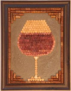 This would look amazing in my Wine Bar- I want to make one
