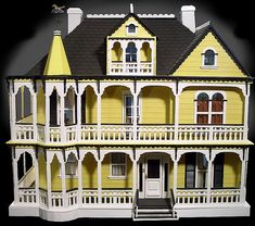 121 Best Miniature Mansions Images In 2018 Dollhouses