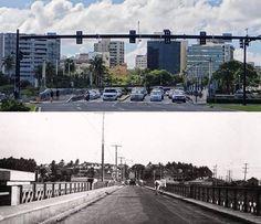 Entrada a Miramar-antes 1948- ahora 2015