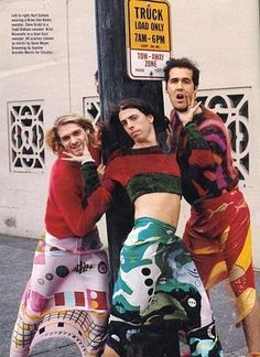 """nirvana/ I saw this while listening to """"Smells like teen spirit"""". It was rather funny"""