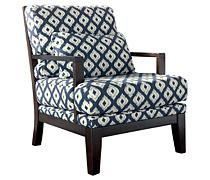 The Keendre - Indigo Accent Chair from Ashley Furniture HomeStore Next Living Room, Accent Chairs For Living Room, Formal Living Rooms, Living Spaces Furniture, Up House, Nebraska Furniture Mart, Online Furniture Stores, Chair And Ottoman, Indigo