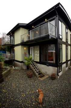 Architecture, Shipping Container Homes For Sale: Zigloo 2 Storeys Container Home Exterior