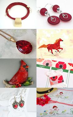 Red in my mind by vvv80 on Etsy--Pinned with TreasuryPin.com