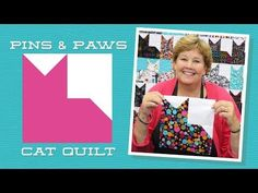 Make an Easy Pins & Paws Quilt with Jenny!