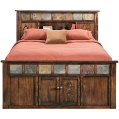 Sante Fe Bookcase Captains Bed   Bedrooms   Slumberland Bedroom Storage Inspiration, Bedroom Bed, Bedrooms, Bed Storage, Storage Ideas, Bookcase Bed, Captains Bed, Bed Images, Faith