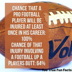 Ouch. #football #footballgame #sports #injuries #butt #ass #comedy #funny #humor #parody #satire #trivia #facts #funfacts #funnypictures #funnypics #funnypicsdaily #sportssaturday