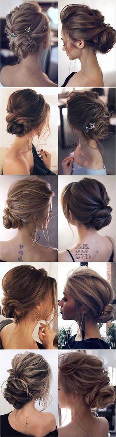 Die 16 Besten Bilder Von Niedrige Chignon Hair Buns Hair Makeup