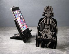 Star Wars Darth Vader Inspired Universal Smart Phone Stand Dock - Fits iPhone 6, iPhone Plus, iPhone 5 or 4, Samsung Galaxy s3 s4 s5
