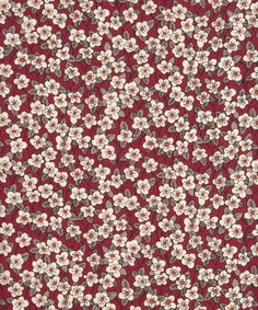 The Ffion Liberty Print fabric is pretty ditsy floral inspired by a simple woodblock design created for Liberty in Motif Liberty, Liberty Print, Liberty Of London Fabric, Liberty Fabric, Wall Collage Decor, Scrapbook Patterns, Textiles, Ditsy Floral, Couture
