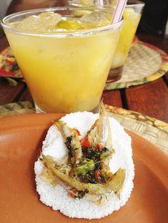 Moqueca de índio com caipirinha de cajá-umbu #saboresemsalvador