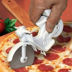 Pizza Cutter Novelty Kitchen Gadgets Unusual Gifts Party