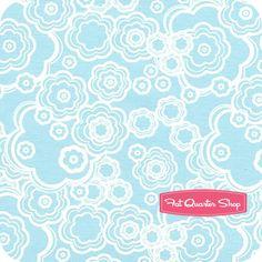 Dazzle Sky Blue Flowers - Melissa Averinos
