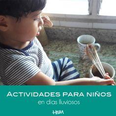 Actividades para hacer con niños en días lluviosos - Toddler activities on rainy days - happysloppymom.com #toddler #diy #actividadesparaniños