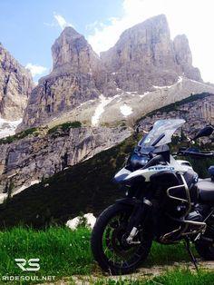 Gardena Pass! #motorcycle #tour #italy