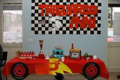 cars party idee, racing party idee