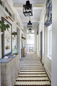 A Blue and White Florida Dream Home – Blue and White Home