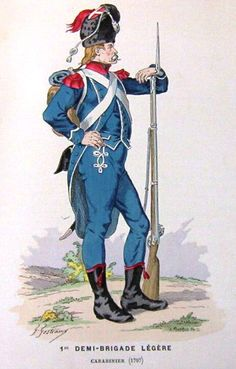 French; 1st Light Infantry Demi-Brigade, Carabiner 1797
