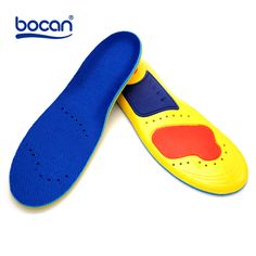 Memory foam insoles shock absorption orthopedic pad for foot pain relieve insoles for men and women shoe insole Motor Neurone -- AliExpress Affiliate's Pin.  Click the image to view the details