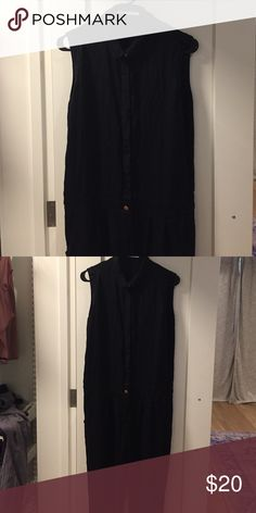 Black Alternative Apparel jumpsuit Black rayon Alternative Apparel jumpsuit size M. Fits baggy. It's missing one button, but there are extra buttons stitched inside the jumpsuit so it's an easy fix. Very comfy and flattering. Alternative Apparel Other