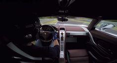 Porsche Carrera GT em Nurburgring: Pornografia automóvel!