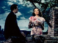 Cornel Wilde and Gene Tierney in John M. Stahl's Leave Her to Heaven (1945)