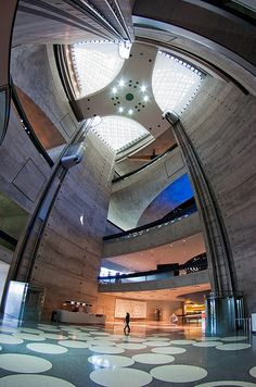 Mercedes-Benz Museum Entrance Hall #2 by iPhotograph, via Flickr.