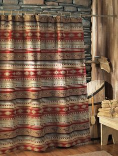 Western Shower Curtains: Flying Horse Shower Curtain|Lone Star Western Decor
