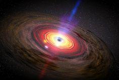 クェーサー、ブラックホールから抜け出す存在。