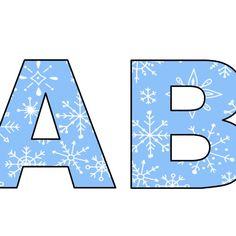Litery i cyfry z motywami na pory roku do tworzenia napisów do druku Deko