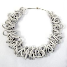 Camilla Marinoni | ceramic necklace:
