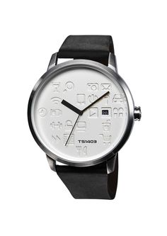 【TACS @ Daily icon】 Daily icon - black x silver #TACSimage #TACSstyle #tacs #timepiece #designerwatch #watch #dailyicon