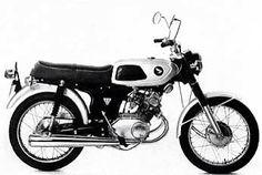 1967 honda ss125 electrical wiring diagram binatani com cafe rh pinterest com Honda Motorcycle Wiring Schematic Diagram Honda