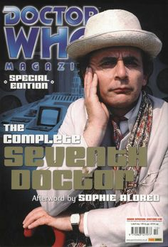 Doctor Who Magazine Doctor Who Magazine, Sylvester Mccoy, Sci Fi Tv Series, Bbc Doctor Who, Through Time And Space, First Story, Time Lords, Dr Who, Mad Men