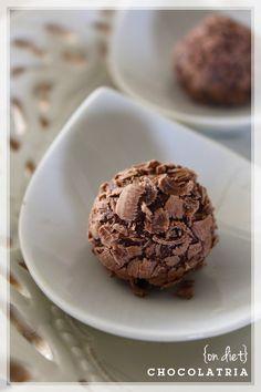 Brigadeiro Diet, receita do Blog Chocolatria da Diva Simone Izumi. Testado e super aprovado!