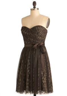 Chocolate It Happen Dress