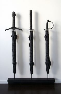 Sword Umbrellas by Materious