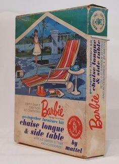 Vintage+Barbie+Dolls | Vintage Barbie Chaise Lounge Packaging 1963 | Flickr - Photo Sharing!