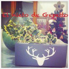 Cajita reno #elnietodeGepetto