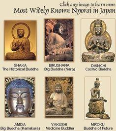 Buddha & Tathagata (Jp. = Nyorai) - Japanese Buddhism & Shintoism Photo Dictionary, Buddha Statues Directory