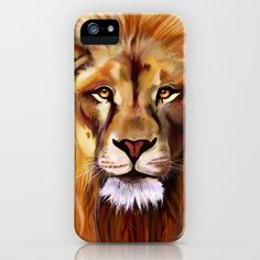 Lion of Africa iPhone & iPod Case by Laura George - $35.00