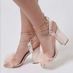 14375e557c3 ISO pink feathered heels I am in desperate search of these Topshop shoes.  please tag me if you find them. From size 7 to Obviously this posting is  not for ...