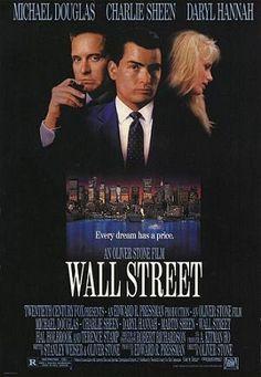 Wall Street : 1987 -Michael Douglas, Charlie Sheen