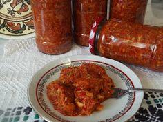 Hellena ...din bucataria mea...: Zacusca de peste (macrou) Tandoori Chicken, Ethnic Recipes, Food, Diet, Preserves, Essen, Meals, Yemek, Eten