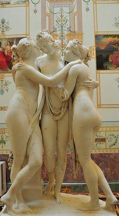 '3 Graces' - Hermitage Museum, Saint Petersburg, Russia