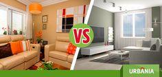 ¿Prefieres decorar tu hogar con colores vivos o neutros? #UrbaniaVS