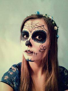 http://www.deviantart.com/art/Sugar-Skull-485537357