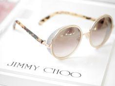 2e93cdbc8950d4 Jimmy Choo andie sunglasses Stylish Sunglasses, Sunglasses Accessories,  Round Sunglasses, Sunglasses Women,