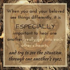 Even difficult situations can be opportunities to know your beloved more deeply.