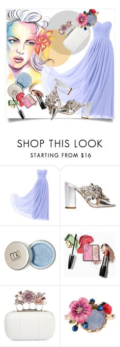 """""""Always a Bridesmaid"""" by kari-c ❤ liked on Polyvore featuring Remedios, GEDEBE, Alexander McQueen, Les Néréides and alwaysabridesmaid"""